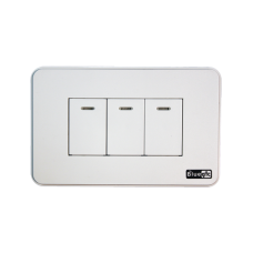 Smart Wall Switch - Socket 118 - 3 Gang