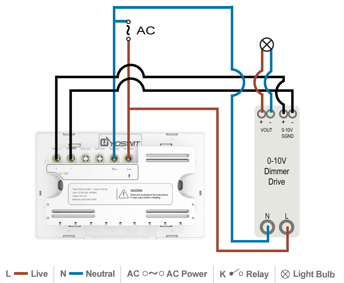 0 10v Dimmer Wiring | Wiring Schematic Diagram Wiring V Dimming on